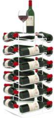 JUNESEVEN Wijnrek VINCENT Wit 24 Flessen