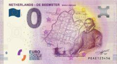 Paarse 0 Euro Biljet 2019 - De Beemster