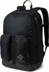Zwarte Columbia Rugzak Zigzag 27L Backpack Unisex - Black - Maat One size