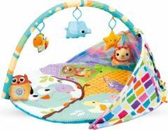 Kidwell Babygym met 5 speeltjes - 84 x 84 x 55 cm