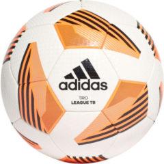 Adidas VoetbalKinderen en volwassenen - wit/oranje/zwart