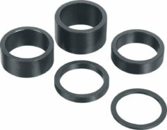 Grijze Xtasy Opvulring Balhoofd Aluminium 1 1/8 Inch 10mm Zwart