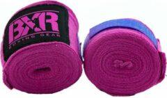 Bandages voor bokshandschoenen BXR | roze | 4,5 meter