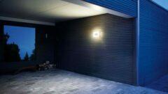 Groene Steinel LED Plafond-/ Wandarmatuur Schemersensor 4,5W Waterdicht IP54, Wit
