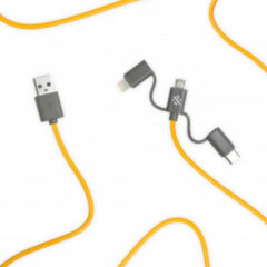 ThumbsUp! Link 3-in-1 Cable 20cm geel