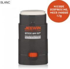 Oranje JEEWIN Technical Sportscare JEEWIN Sun Blokker SPF 50 - WIT | ook geschikt voor bescherming tattoo