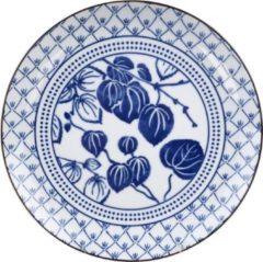 Blauwe Tokyo Design Studio - Flora Japonica Plate 25.7x3cm Ivy