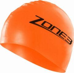 Oranje Zone3 badmuts van silicone - Badmutsen