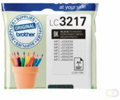 Brother Inkt LC-3217BK Origineel Zwart LC3217BK