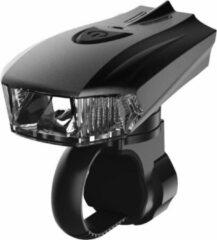 Zwarte 400 Lumen Pro sport Lights - USB Oplaadbaar - LED Voorlicht - Fietsverlichting