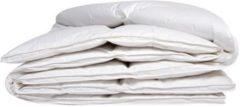 Witte ISleep Donzen Dekbed - Enkel - 100% Dons (Warmteklasse 1) - Tweepersoons - 200x220 cm - Wit