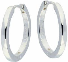 Silver Lining - Zilveren oorringen - Dames - Zilver - 20 mm