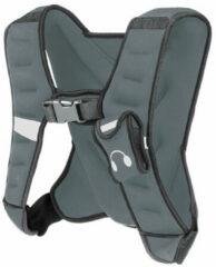 Tunturi Gewichtvest - Verstelbaar Weight Vest - Voor Hardlopen en Krachttraining - 5 kg - Grijs