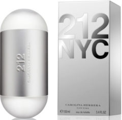 Zilveren Carolina Herrera 212 NYC Eau de Toilette (EdT) 100 ml - silber