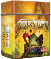 Gele White Goblin Games uitbreiding Claim Reinforcements: Maps Pocket (NL)