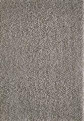 Grijze Basic Collection Vloerkleed Shaggy Hoogpolig Loca Licht Grijs -120x170CM