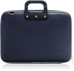 Donkerblauwe Bombata Classic Hardcase Laptoptas 15 inch Dark Blue