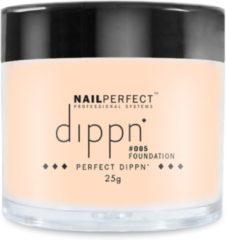 Roze Dip poeder voor nagels - Dippn Nailperfect - 005 Foundation - 25gr