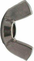 Roestvrijstalen Kelfort Vleugelmoer rvs (A2) M5 - 100 st