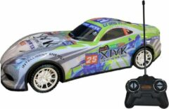 Gear2play Raceauto Rc Grand Prix 27 Mhz 1:18 Groen/blauw