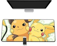 M-Glider Muismat -- 90x40Cm -- Pokémon -- Pikachu -- Full Collor Mousepad -- Waterproof