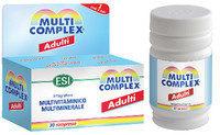 Esi Multicomplex Adulti integratore alimentare di vitamine e sali minerali per adulti 30 compresse