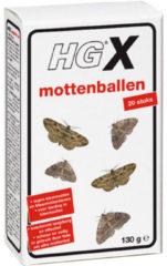 HG Mottenballen 20 stuks 130 gram