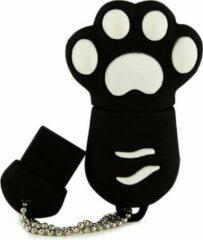 Onderwijsgadgets Kattenpootje Zwart - USB-stick - 8 GB