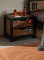 Vipack Furniture Vipack Nachtkonsole Alex Kiefer gebürstet
