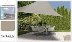 Witte Xenos Schaduwdoek driehoek - taupe - 360x360x360 cm