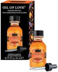 Oranje Kama Sutra Tropical Mango - Likbare Olie - 22 ml