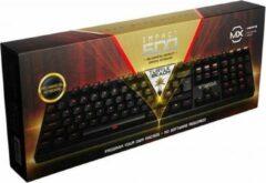 Zwarte Turtle Beach Impact 600 mechanisch gaming QWERTY toetsenbord