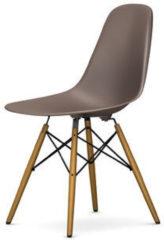 DSW Eames Plastic Sidechair - mauve grau - Sitzhöhe 41 cm