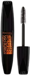 Zwarte Rimmel London Rimmel Scandaleyes Reloaded Mascara 003 Extreme Black