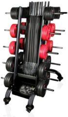 Zwarte Gymstick Rek voor Pro Pump Sets