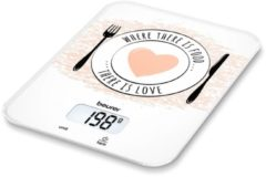 Witte Beurer KS19 - Keukenweegschaal - 5kg - incl batterijen - Love