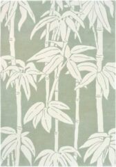 Florence Broadhurst - Japanese Bamboo 39507 Vloerkleed - 170x240 cm - Rechthoekig - Laagpolig Tapijt - Design - Groen, Wit