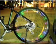 RRJ LED Fietswielverlichting Multicolor - Inclusief Batterijen