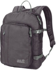 Donkergrijze Jack Wolfskin Campus Backpack - Unisex - Dark Steel - ONE SIZE