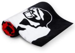 Gorilla Wear Functional Gym Towel - Handdoek - Zwart/Rood