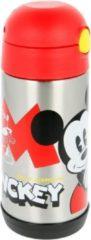 Nickelodeon Disney - Mickey Mouse - Drinkbeker - Koude dranken - RVS - Rood - Inhoud 360ML