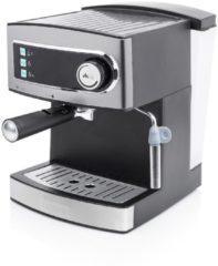Princess Espressomaschine 15 bar 01.249407.01.001 Princess Silber/Schwarz