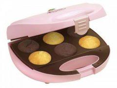 BESTRON Bestron DCM8162 Cupcake apparaat 750 W roze