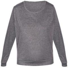 Langarm-Shirt 'ELEGANT MELANGE' sassa melange grey