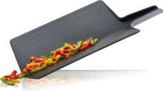 GEFU Opvouwbare snijplank LAVOS - zwart - kunststof