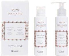 Biacre Argan And Macadamia Oil Shampoo & Mask Travelkit Pakket Alle Haartypen 200ml