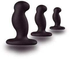 Nexus - Erotiek Nexus G-Play Trio Buttplug - Beginner set - Zwart