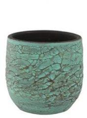 Groene Ter Steege Pot evi antiq bronze bloempot binnen 22 cm