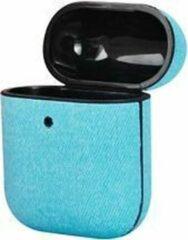 TERRATEC AirBox beschermhoesje voor AirPods Fabric Lichtblauw