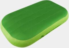 Groene Sea to Summit - Aeros Premium Delux Pillow - Kussen maat Deluxe groen/grijs